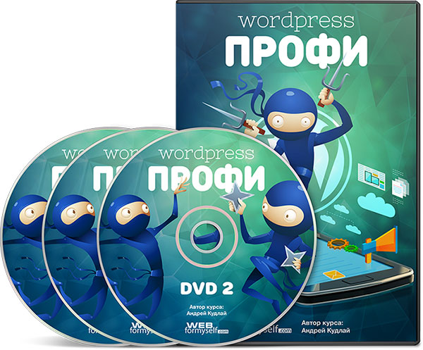 Видеокурс WordPress-Профессионал